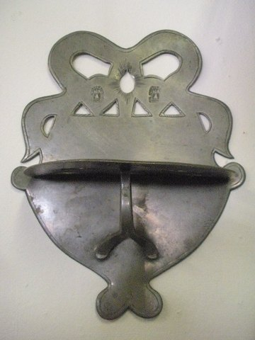 Skeholder i tin dateret 1768